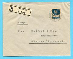 R- Brief Von Wil Nach Gloten / Sirnach 1926 - Covers & Documents