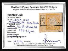 DR. Fern-Karte Mit EF. Mi.-Nr. 18 , KB.  SommerBPP - Non Classificati