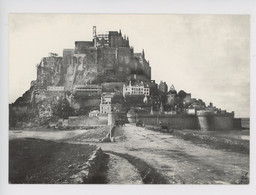 Le Mont Saint Michel 1874 Début De La Restauration Après Incendie - Coll F. Leréec N°704 - Le Mont Saint Michel