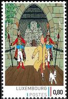 Timbre Privé** - Tintin / Kuifje / Tim  - Milou / Bobbie / Struppi - Le Sceptre D'Ottokar / De Scepter Van Ottokar - Film