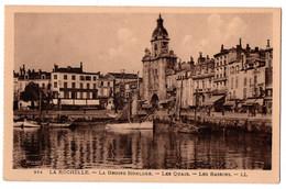 CPA 17 - LA ROCHELLE (Charente Maritime) - 354. Grosse Horloge, Quais, Bassins - La Rochelle