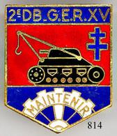814 - MATERIEL - 2e D.B. - Army
