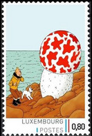 Timbre Privé** - Tintin / Kuifje - Milou / Bobbie - L'étoile Mystérieuse / De Geheimzinnige Ster / The Shooting Star - Andere