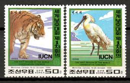 Korea 1996 Corea / Birds Reptiles Mammals MNH Aves Mamíferos Vögel Säugetiere / Hs93  7-4 - Unclassified