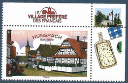 Hunspach - Le Village Préféré Des Français BDF (2021) Neuf** - Unused Stamps