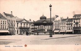 CPA - OSTENDE - Place D'Armes ... Lot De 2 Cartes A Saisir - Oostende