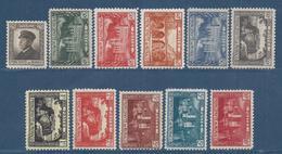 ⭐ Monaco - YT N° 54 à 64 - Neuf Sans Charnière - 1922 Et 1923 ⭐ - Unused Stamps