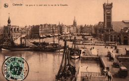 CPA - OSTENDE - Vue Du Port  ... Lot De 2 Cartes A Saisir - Oostende