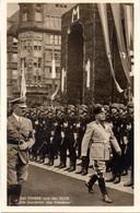 """(L-N) DR Sonder- Ansichtskarte """"Der FÜHRER Und Der DUCE"""" EF Mi 516 SSt 18.6.40 MÜNCHEN """"Begegnung Hitler Mussolini.."""" - Covers & Documents"""