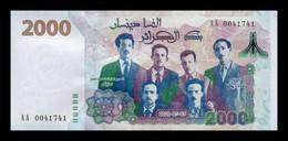 Argelia Algeria 2000 Dinars Commemorative 2020 (2021) Pick New Serie AA SC UNC - Algérie