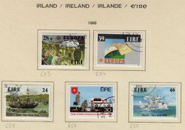 Irlande O N° Yv 652, 653, 654, 655,656; Mi 649, 650, 651, ..; SG 692, 694, 695, 696, 697. - Used Stamps
