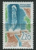 ANDORRE ( POSTE ) : Y&T N°  371  TIMBRE  NEUF  SANS  TRACE  DE  CHARNIERE , A  SAISIR . - Neufs