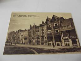 Cpa  Mariakerke Bains La Rue De L'archiduc - Oostende