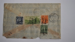 Chine China 1938 Hankow To Germany Cover With Via Hongkong !!! - 1912-1949 Republiek