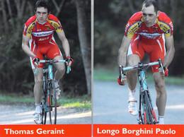 CYCLISME: CYCLISTE : PAOLO LONGO BORGHINI - GERAINT THOMAS - Cycling