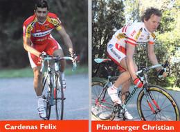 CYCLISME: CYCLISTE : CHRISTIAN PFANNBERGER - FELIX CARDENAS - Cycling