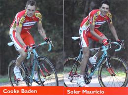 CYCLISME: CYCLISTE : MAURICIO SOLER - BADEN COOKE - Cycling