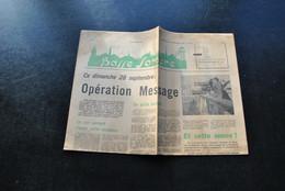 Journal Hebdomadaire Basse Sambre 28 Septembre 1969 Arsimont Jemeppe Sur Sambre  Auvelais Falisolle La Sarthe - Belgio