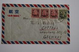 Chine China 1947 Shanghai To Germany Cover !!! - 1912-1949 Republiek