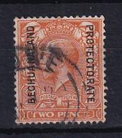 Bechuanaland: 1913/24   KGV 'Bechuanaland Protectorate' OVPT   SG76a   2d  Orange   [Die 1]   Used - 1885-1964 Protectorado De Bechuanaland