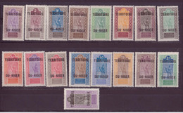 ⭐Niger   YT N°1 à 17 ** - Neuf Sans Charnière - 1921/1922 ⭐ - Unused Stamps