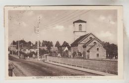 CPSM IGORNAY (Saône Et Loire) - L'Eglise Et Le Vieux Château (XII° Siècle) - Other Municipalities
