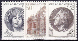 ** Tchécoslovaquie 1953 Mi 833-5 (Yv 737-9), (MNH) - Nuovi