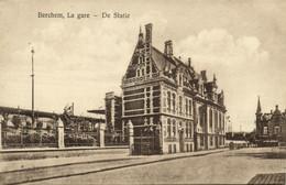 Belgium, BERCHEM, Antwerpen, Gare, Statie, Railway Station (1910s) Postcard - Antwerpen