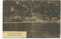 13/MARSEILLE  - CALANQUE De SORMIOU - La Grande Plage Et Le Lunch (éditions Gabriel) - Otros