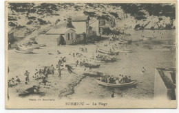 13/MARSEILLE  - SORMIOU - La  Plage (Photo Ch. Bourrelly) - Otros