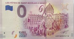 BILLET TOURISTIQUE 0€  - 2018-2  -  Les Fêtes De Saint Nicolas   - N° 2416 - Altri
