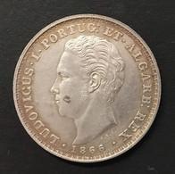 Portogallo Portugl 500 Reis 1866 Re Ludwig I° D.1054 - Portugal