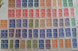 FRANCE -  58 Coins Datés Du Type Iris Neufs **(MNH) + 6 CD (*) +  13 CD * (MH) Avec Variétés, Nuances...  - 9 Photos - Sonstige