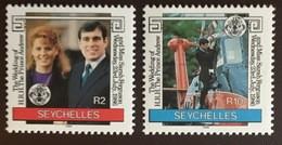 Seychelles 1986 Royal Wedding MNH - Seychelles (1976-...)