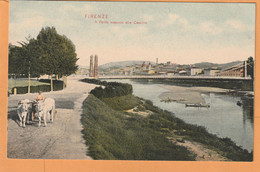 Firenze Italy Old Postcard - Firenze (Florence)