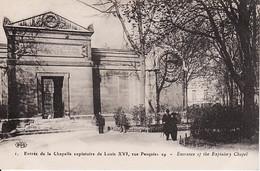 3135110Paris, Entrée De La Chapelle Expiatoire De Louis XVI Rue Pasquier - Arrondissement: 08