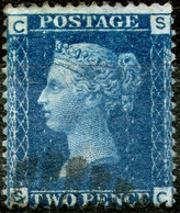 Great Britan,1869,Queen Victoria 2 Pence,pl.13,used,as Scan - Used Stamps