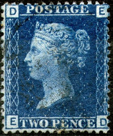 Great Britan,1869,Queen Victoria 2 Pence,pl.15,used,as Scan - Used Stamps