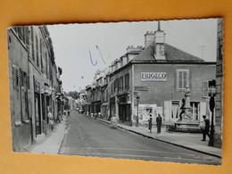 LONGJUMEAU -- Grande Rue - ANIMEE - Publicités Butagaz - Frigéco -- Carte Postale Semi-moderne - Longjumeau