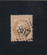 N° 28 A  - GC  807   CENON-LA-BASTIDE (32) GIRONDE   -REF 5609 + Variété Suarnet 61 - 1863-1870 Napoleon III With Laurels