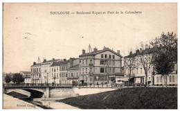 31 TOULOUSE - Boulevard Riquet Et Pont De La Colombette - Toulouse