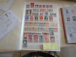 France Année 1944 Obl Ou  Neufs Charnières OU Nsg Cote 95 Euros - 1940-1949