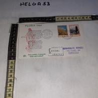 4ALB6 REPUBBLICA ITALIANA FDC PRIMO GIORNO DI EMISSIONE 1968 TIMBRO ANNULLO FLORA 1968 - FDC