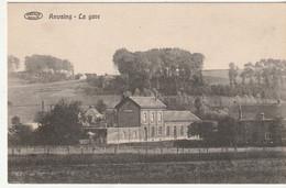 Anvaing - La Gare Et Environs - Edit. Ed. Formanoir, Anvaing/Préaux - Stations Without Trains