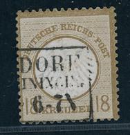 Deutsches Reich Brustschild Michel Nummer 11 Gestempelt - Erhöhte Prüfung - Gebraucht