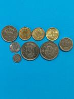 9 Pièces D'Espagne - Lots & Kiloware - Coins
