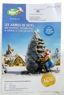 FLYERS PARC ASTERIX COLLECTIVITES (1) 2021 - Advertisement