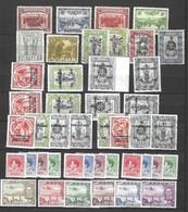 Papouasie Belle Petite Collection  Neufs */oblitérés 1932/1941. B/TB. A Saisir! - Papua Nuova Guinea