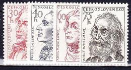 ** Tchécoslovaquie 1955 Mi 941-4 (Yv 831-4), (MNH) - Ungebraucht