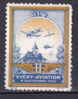 1932 - VIGNETTE VICHY AVIATION ! * MH - Aviation